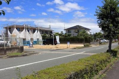 現場より〜袋井市新屋にモデルハウス建築工事が着々進行しています〜
