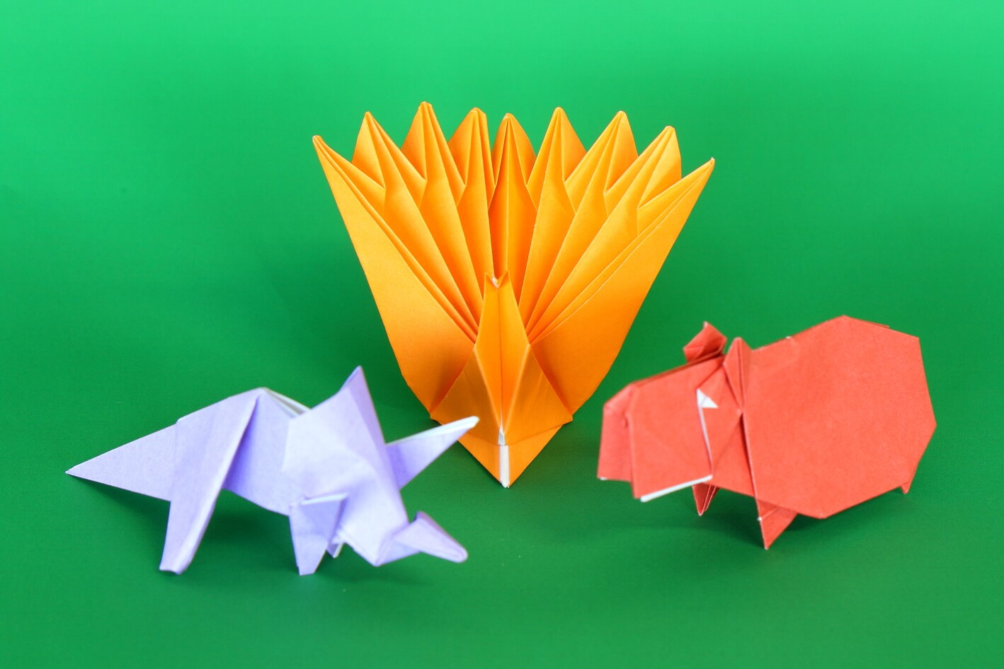 おうちチャレンジ第2弾「折り紙アート」