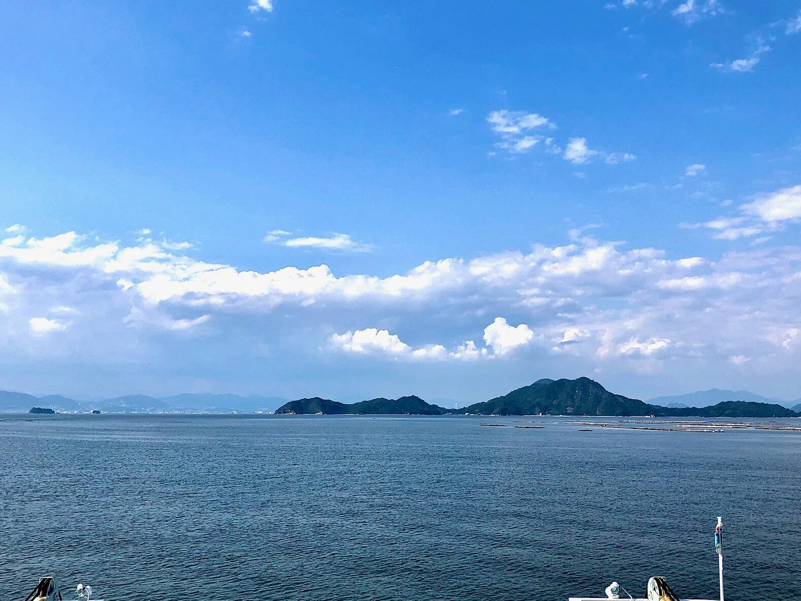 江田島フェリーに乗りました!