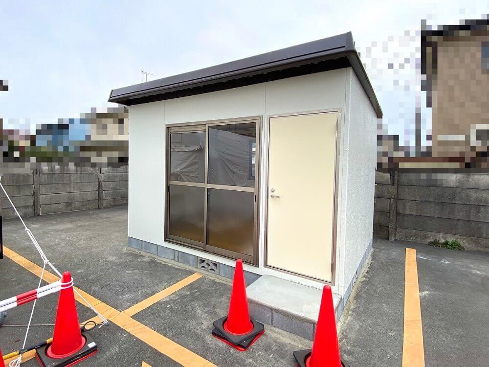 【施工事例】鉄鋼系ミニハウスMD MDB1520A